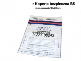 Secure Envelope B5 non-transparent 190x260mm