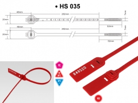 Security seal HS 035