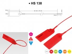 Security seal HS 138
