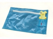Security Bag 230x170mm Blue