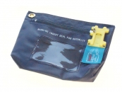 Security Bag 172x127x38mm Navy Color